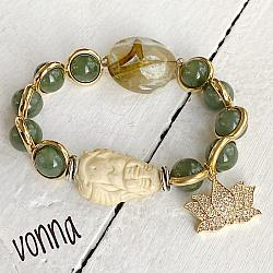 Genuine Jade Stretch Bracelet